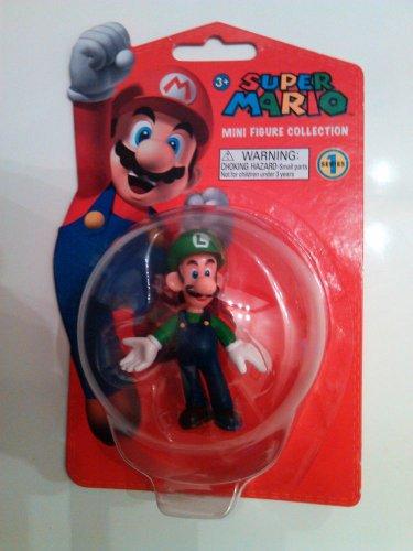 Super Mario Bros. Luigi 2 inch Mini Figure (Series 1)