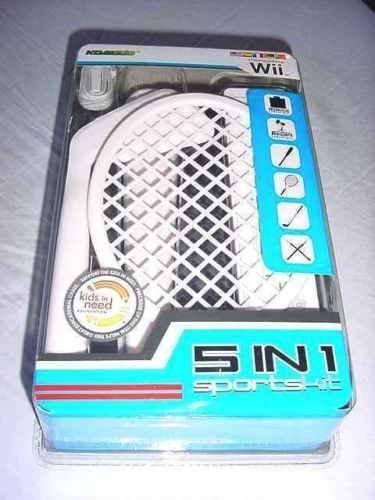 Wii 5 in 1 Sports Kit (Komodo) NEW