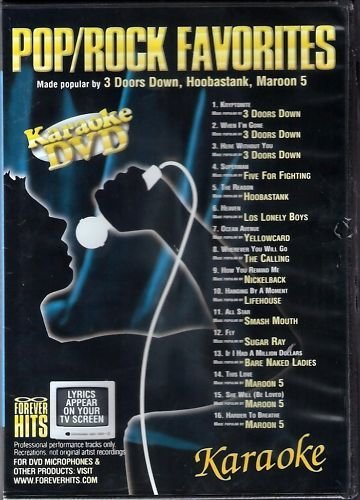 Forever Hits Pop/Rock Favorites Karaoke DVD FH-4208