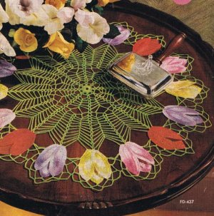 Free thread crochet patterns for butterfly doily