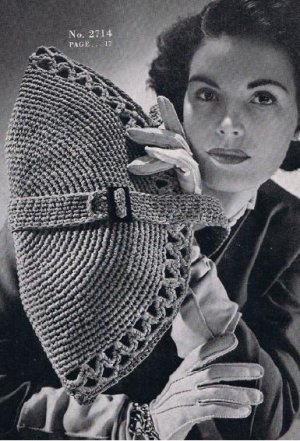 Free Crochet Pattern 90138AD Perfect Purse : Lion Brand Yarn Company