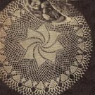 Vintage Style Crochet,Comets Tail Doily,Table Linens,Make Lace Patterns
