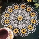 Crochet Flower, Centerpiece Flower, Doilies, Flower