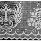 Altar Lace, Church Filet, Crochet Pattern Church