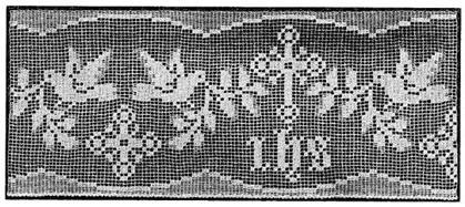Free Religious Filet Crochet Pattern | Learn to Crochet