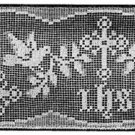 Crochet Church Altar Table Pattern Filet Lace Edging