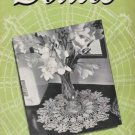 Crochet Book Doily Patterns 163, Doily Book