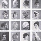 Bernat  Crochet Hat Patterns Book Vintage Patterns