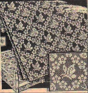 Oval Doilies - Filet Crochet Patterns - HASS DESIGN CROCHET