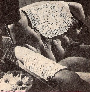 Heirloom Crochet - Vintage Filet Crochet by Ann Orr