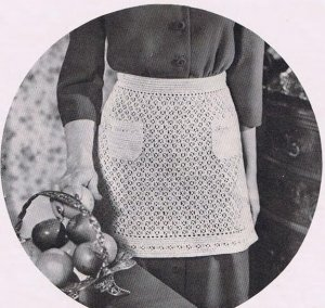 Free Apron Patterns | Free Vintage Crochet Patterns
