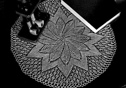 FILET CROCHET NAME DOILIES PATTERN | Original Patterns