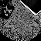 Knit Full-Bloom Doily Vintage Knit Pattern Doilies