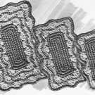 Hot  Mats Crochet Patterns Vintage  Crochet Patterns Mats