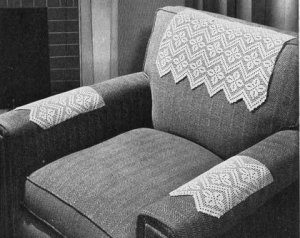 Crochet Chair Back Headrest Patterns Free Crochet Patterns