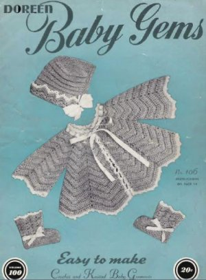 Ski Sweaters & Hats Vintage 70s Crochet Patterns for Boys & Girls