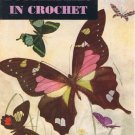 Pattern Vintage Butterflies Book, Crochet Butterflies, Crochet Book
