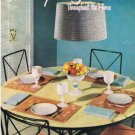 508 Old Crochet Book Home Decor Patterns instructions needlework,pamphlet,publication,leaflet