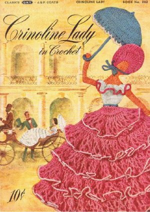 Patterns Crinoline Lady 262 Vintage Book,