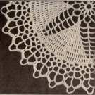 "Doilies Star Center Lace Pattern Doily Crochet 9-1/2"", 10 Thread"