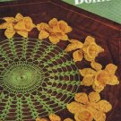 Crochet Flower Doily, Crochet Flower Book, Pattern Doilies 258 Vintage Flowers J&P Coats