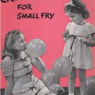 Children Small Fry Book #175 Clothing Dresses Crochet