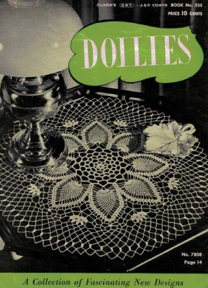 eBay - Heart Doily Thread Crochet Patterns Book Doilies NEW