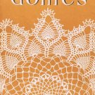Pattern Book Doilies #44 Crochet Scroll Lattice Doily Flower Edge 4410 Pineapple