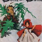 "Jack and Jill Story Book Dolls Crochet Patterns Vintage Kids Popular Characters for 7"" 8"" Doll"