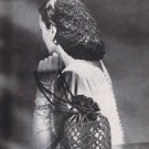 Crochet Snood Pattern Vintage, Purse and Hair Net Pattern Snood