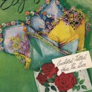 Vintage Crochet Patterns Crochet Floral, Vintage Edgings Pattern Book