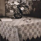 Motif Patterns Crochet Tablecloth Book, Crochet 202