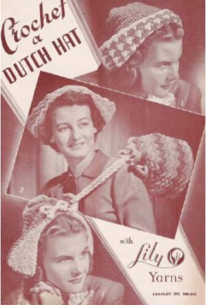 Dutch Bags Hats Crochet Patterns