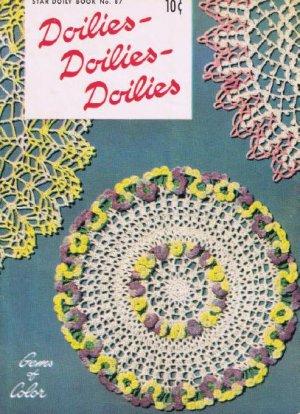 Crochet Thread Vintage Pattern Book