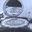 Dresser Vintage Vanity Doily Crochet Patterns