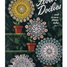 Star  #64 Doilies Crochet Book Vintage Star Pattern Book