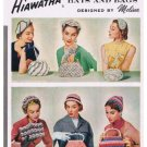 Vintage Hat Patterns, Books Crochet Handbags1954 Hiawatha Pdf