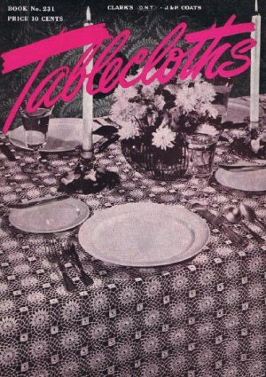 crochet tablecloth for sale - iOffer: A Place to Buy, Sell  Trade