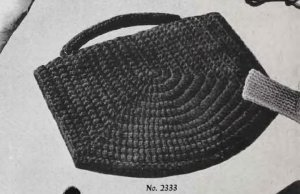 Crochet Vintage Handbags Wristlet, Crochet Patterns Purse , Clutch