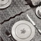 Table Place Mats  Pattern, Doily Place Setting Knit Mats
