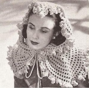 Crochet a Joan Crawford Silent Movie Gypsy Head Scarf Hat - Yahoo