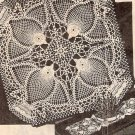 Vintage Pattern, Crochet Doily, Pineapple Birds