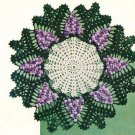 Vintage Crochet : Grape Crochet Doily Pattern Doilies