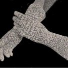 Lace Bridal Crochet Gloves Pattern