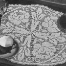 Doily Crochet, Filet Crochet, Pattern Crochet