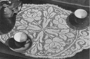 Crochet Doily Pattern | eBay