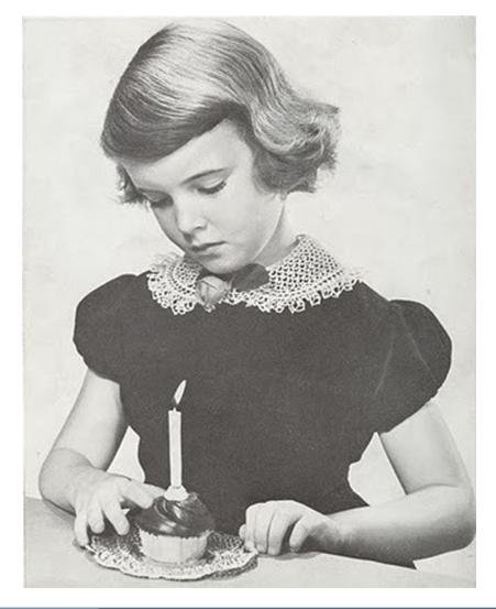 Child's Collar Peter Pan Crochet Collar Pattern