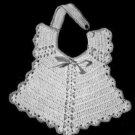 Baby Bib Heirloom Antique Retro Crochet Pattern