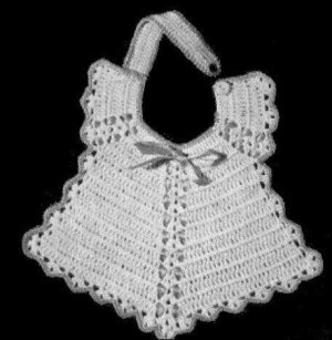 FLOWER Baby BIB Crochet Pattern - Free Crochet Pattern Courtesy of