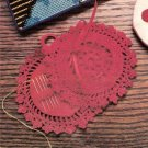 Needle Book Thread Crochet Pattern -  Vtg Vintage  Sewing Accessory